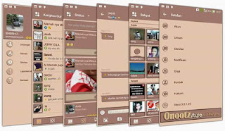 Download BBM Mod Brown v3.0.1.25 Apk Terbaru
