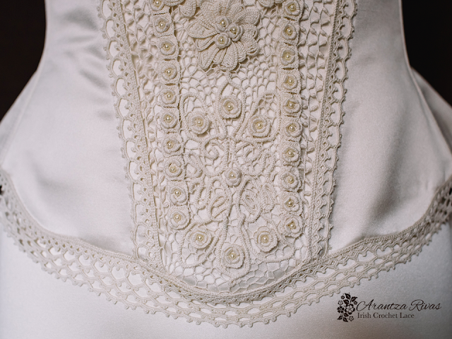 Wedding gown embellishment