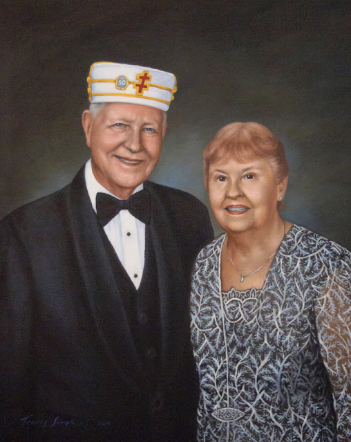 Mr. and Mrs. Thomas A. Rossman, 33°. Supreme Council. Scottish Rite, SJ. by Travis Simpkins