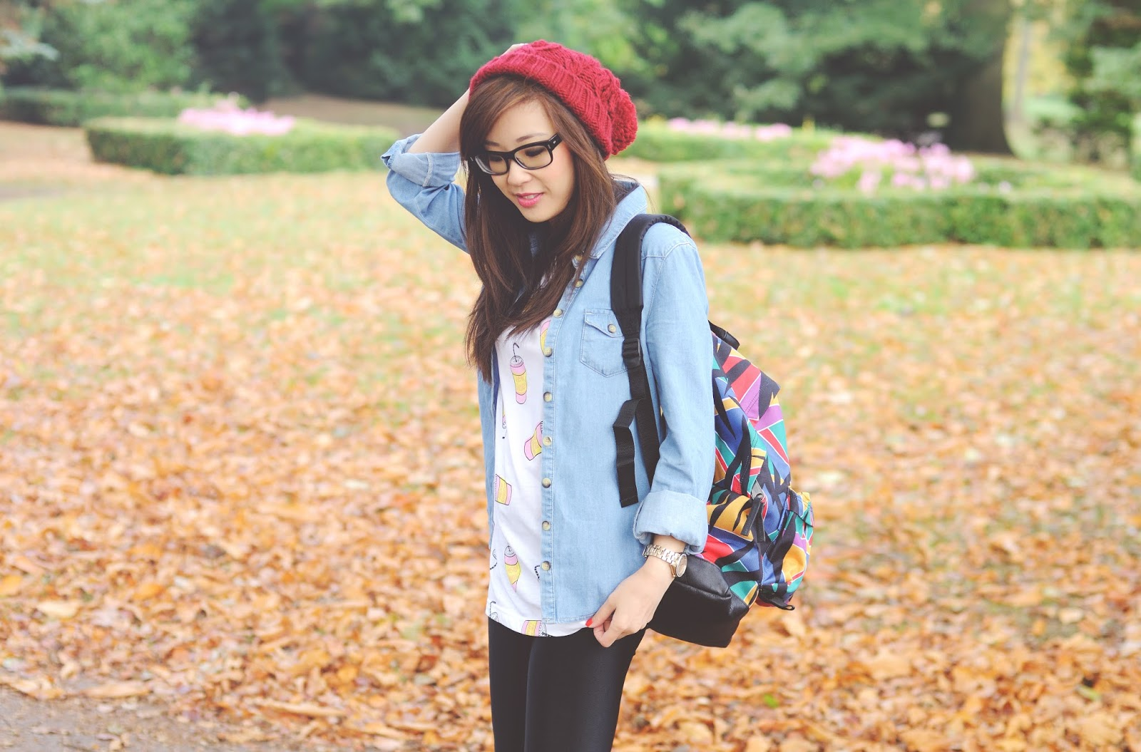 autumn outfit 2014, what to wear for fall, what to wear with denim shirt