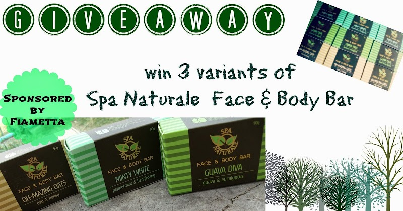Fiametta's Spa Naturale Face and Body Bar Review + Giveaway