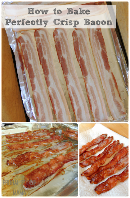Have you always wanted to try baking your bacon? Today I am sharing my method & tips for How to Bake Perfectly Crisp Bacon in your oven.