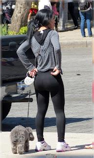 chica buena nalga leggins