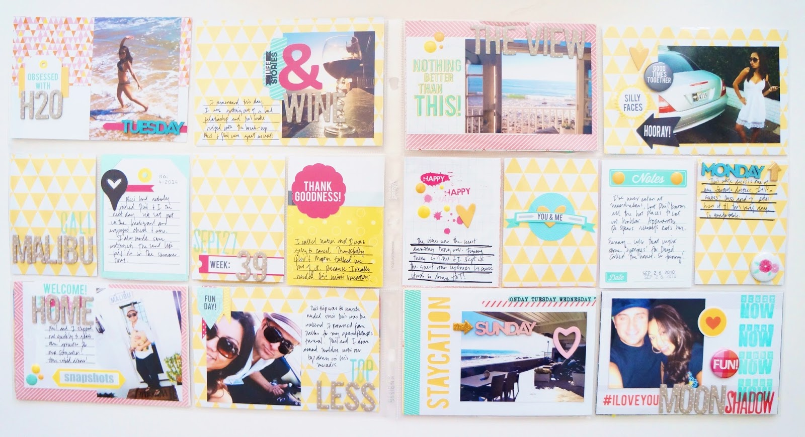 Craft Warehouse Project Life Design Team Member Cathy Vee, @craftcathy, @craftsavy, #craftwarehouse, #projectlife, #scrapbooking