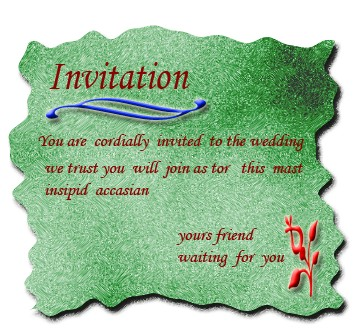 Digital Wedding Invitation Cards Various Types Of