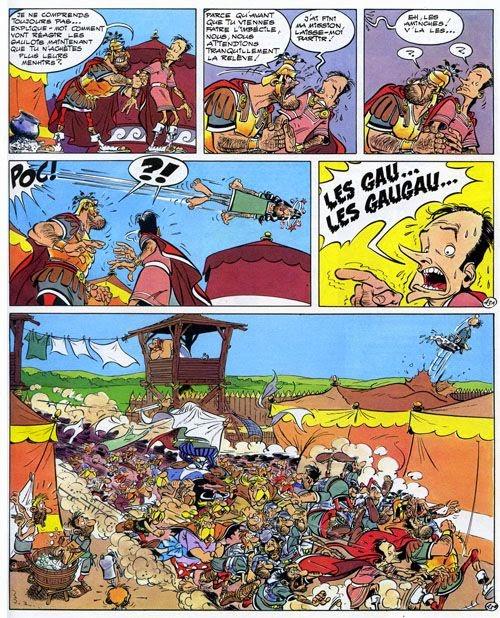 mystery comics critique 606 asterix tomes 23 24. Black Bedroom Furniture Sets. Home Design Ideas