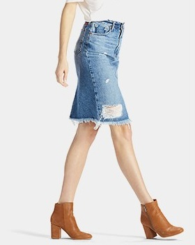 Denim Skirt Under $100