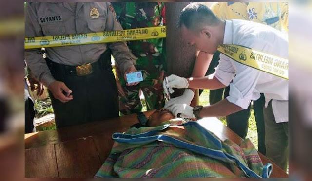 Mayat ditemukan di SPBU Petahunan