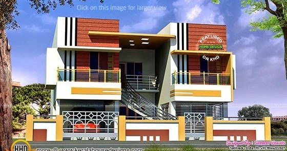 tamilnadu-duplex-thumb N For The Front Two Bedroom House Plans With Be on