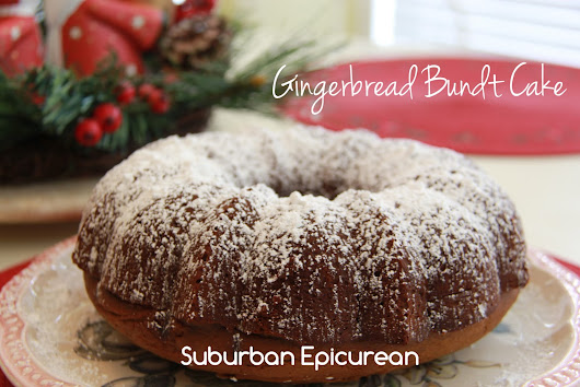 Gingerbread Bundt Cake
