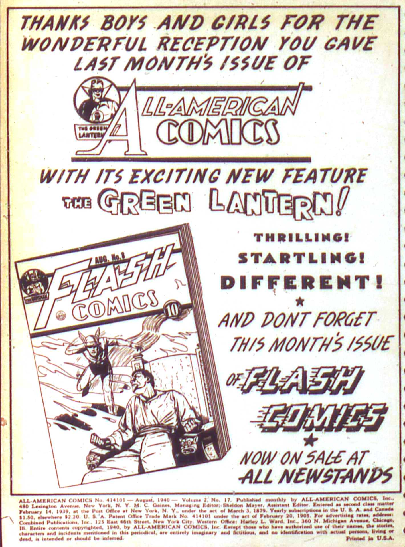 Read online All-American Comics (1939) comic -  Issue #17 - 2