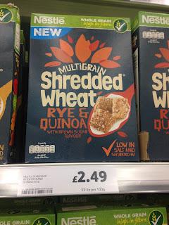 Nestle Multigrain Shredded Wheat Rye & Quinoa