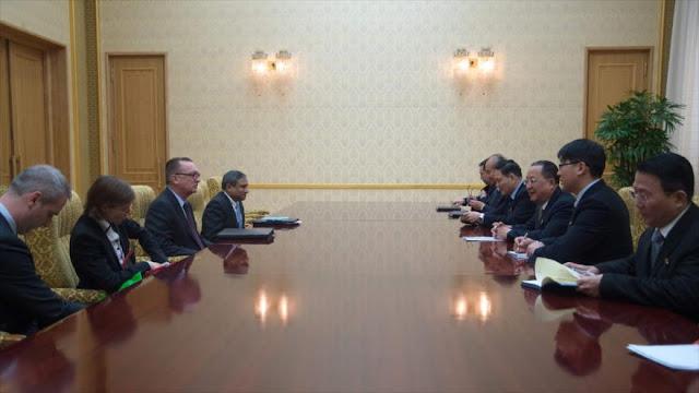 """Pyongyang denuncia """"hostilidad y chantaje nuclear"""" de EEUU"""