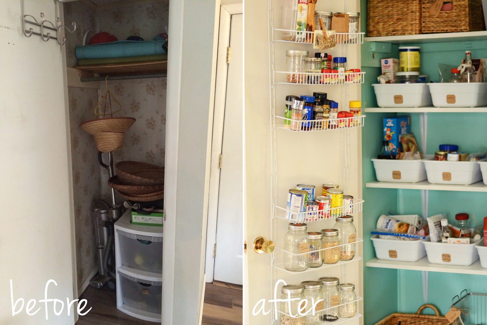 Finest natalie creates: from a coat closet to a pantry: our pantry remodel! GZ77