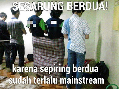 Sarung Anti Mainstream