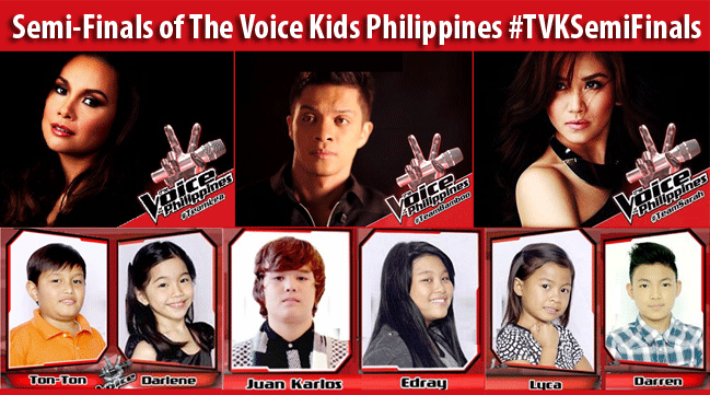 Summary of Semi-Finals of The Voice Kids Philippines with hashtag #TVKSemiFinals
