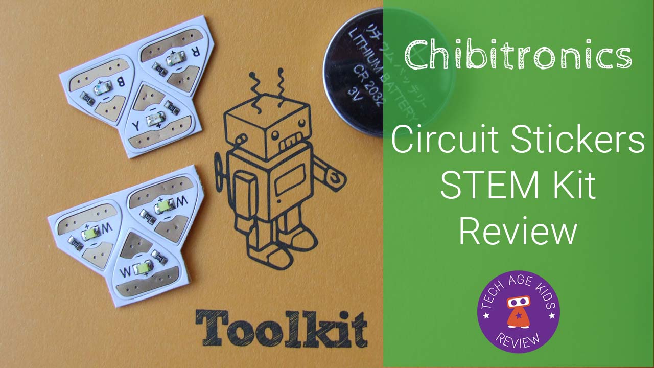 Chibitronics Led Stickers Electronics Kit Review This Is Also On Circuit I Play Minecraft Mostly To Make Circuits The Perfect Product Combine Craft And By Using Just Kind Of Get Excited About Because