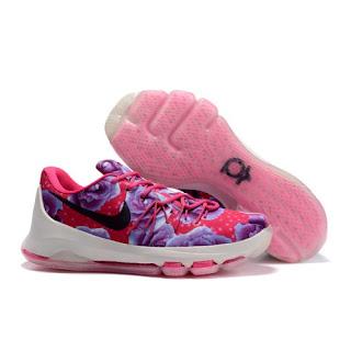 Sepatu Basket Nike KD8 Aunt Pearl , harga sepatu basket nike, nike kd8,
