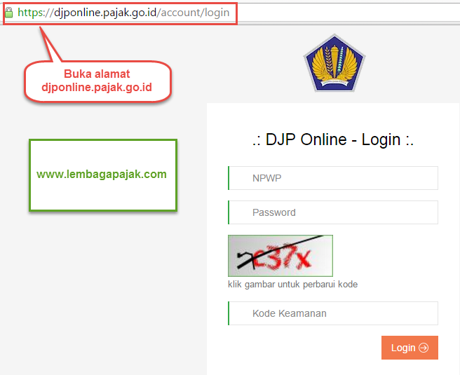 Cara Lapor Pajak Online Pph 21 Dengan Efilling Djp Online Laporan Pajak Online