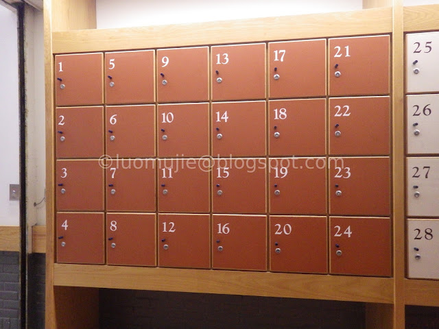 Meteor Garden university lockers
