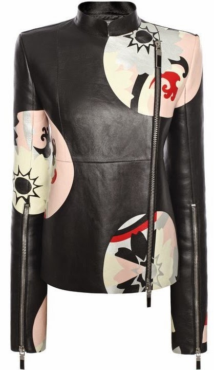 Kansai Circle Print by Alexander McQueen