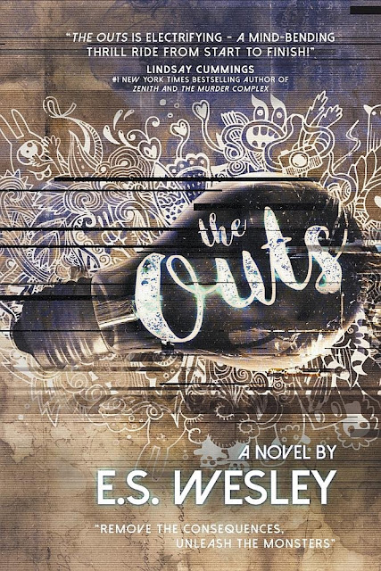 Beautiful 2017 Book Cover Designs  The Outs by E.S. Wesley