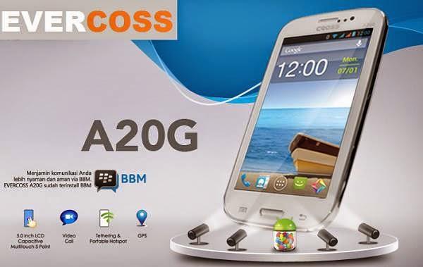 Evercoss A20G