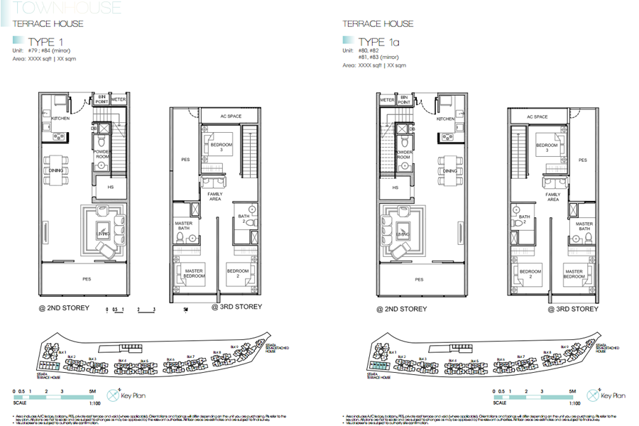 kingsford waterbay townhouse type 1