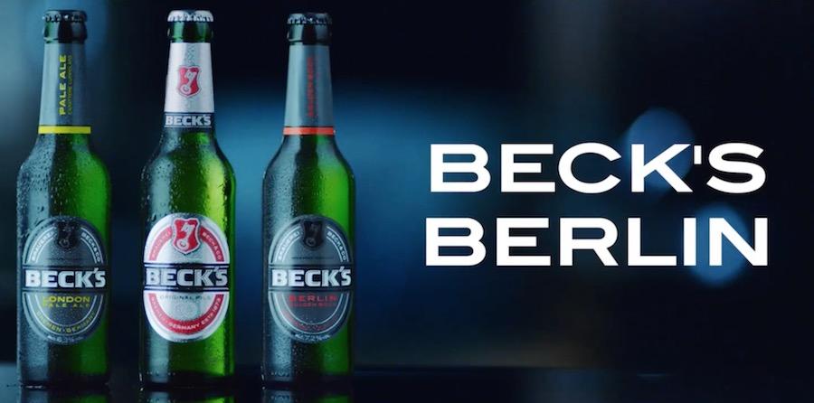 Canzone spot Beck's Berlino-Londra