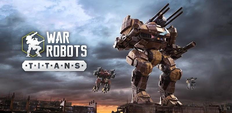 War Robots 6v6 Tactical Multiplayer Battles 5.7.2 APK+Data
