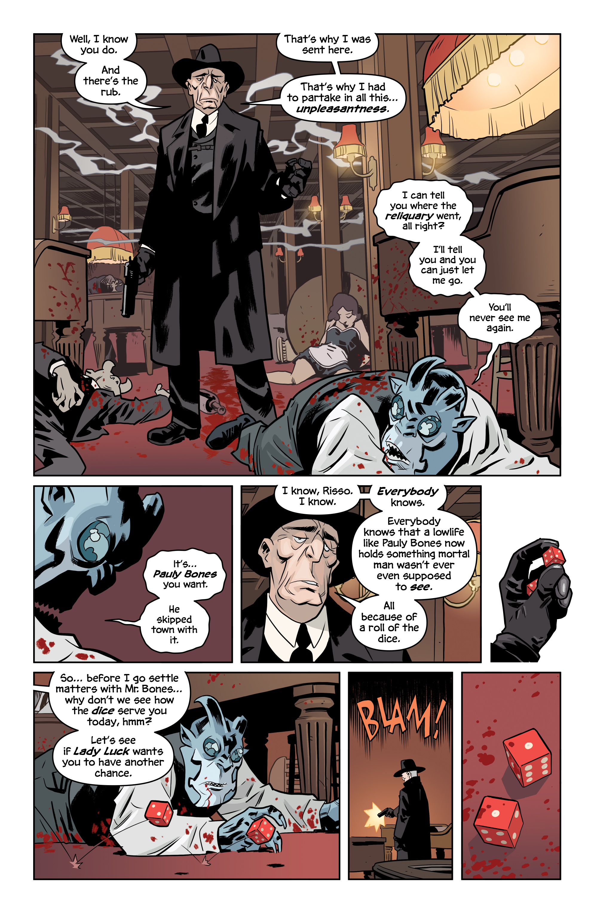 Read online The Damned comic -  Issue #2 - 24