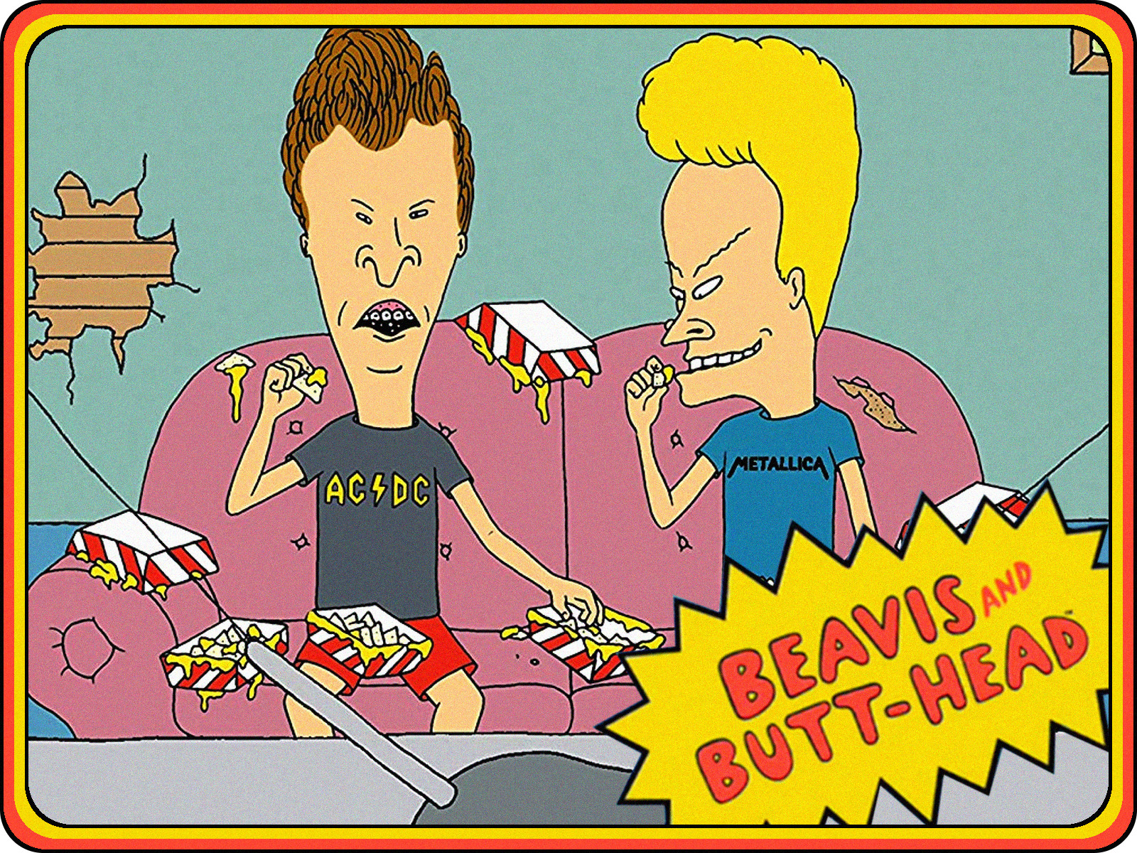 "misfit robot daydream: beavis and butt-head - ""bungholio: lord of"