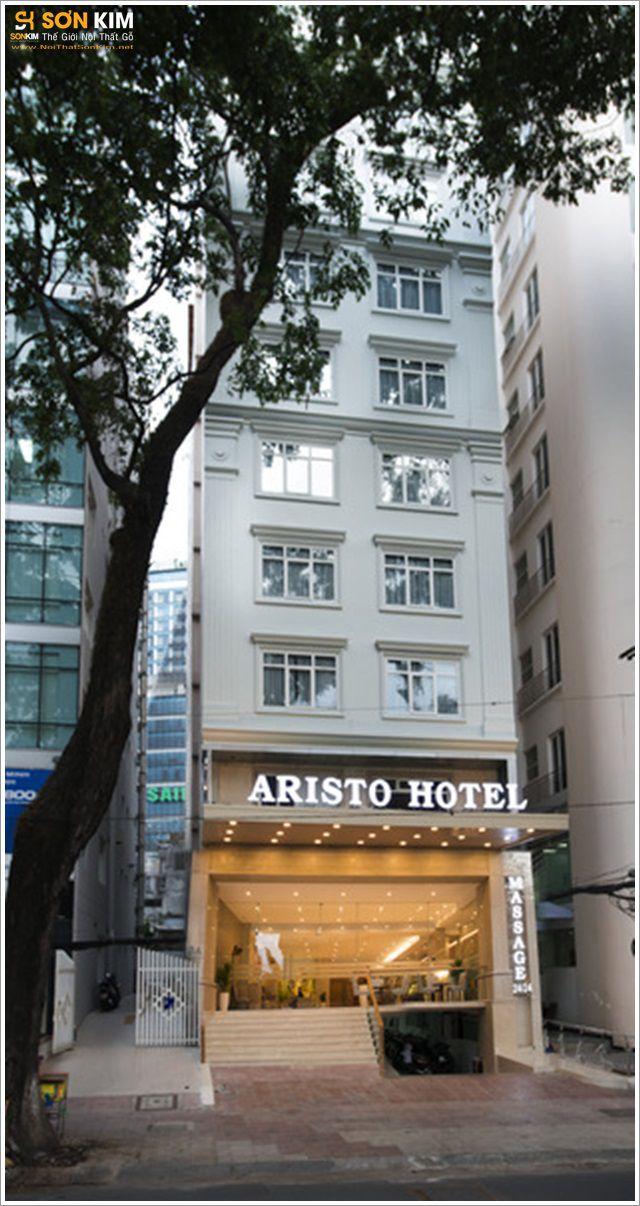 Bàn ghế nhà hàng khách sạn Aristo TpHCM