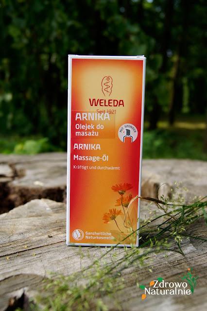 Weleda - Arnika - Olejek do masażu
