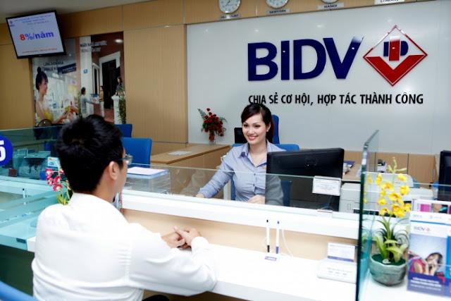 Ngân hàng BIDV luôn là nơi tin cậy với mọi khách hàng