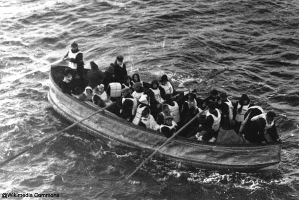 Os últimos a saírem do Titanic