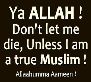 Unless I am a True Muslim