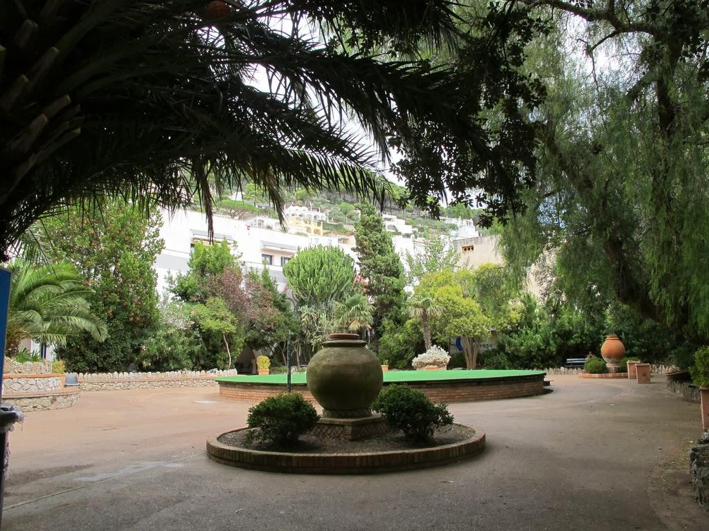 Jardins de Augusto, passeio em Capri