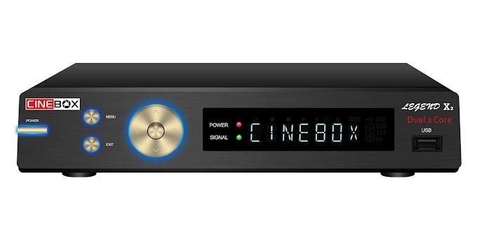 CINEBOX LEGEND X2 NOVA ATUALIZAÇÃO - 22/09/2018