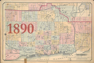 1890 Goad Atlas of the City of Toronto - Key Map