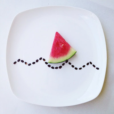 Drawing Pictures with Food