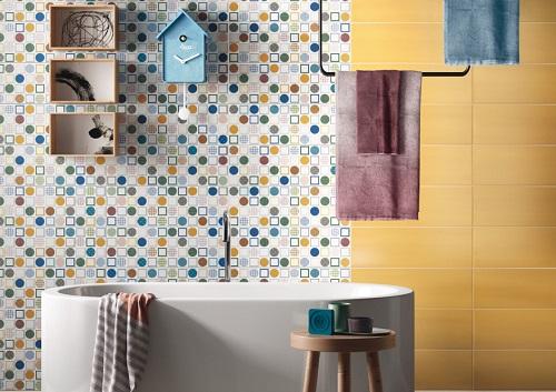 Керамическая плитка для ванной 2021- последние тренды