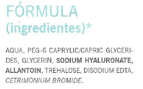 Ingredientes Agua Micelar Farmacia Viéitez