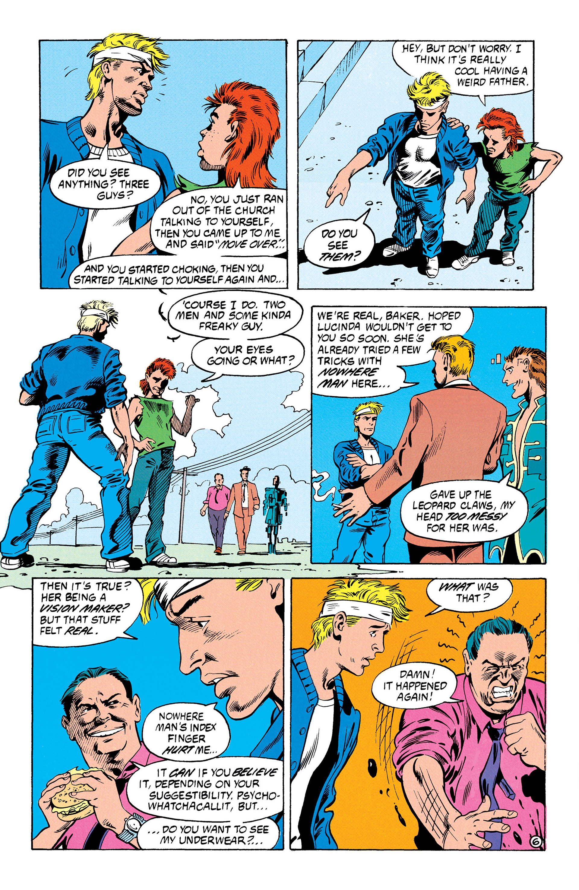 Read online Animal Man (1988) comic -  Issue #30 - 7