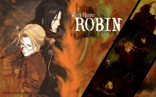 Witch Hunter Robin - Anime Mirip Tokyo Ghoul