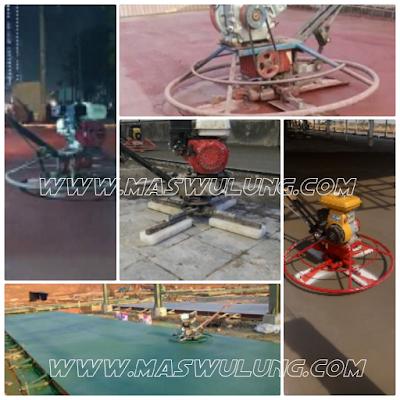 Jasa Floor hardener lantai gudang pabrik lapngan bengkel showroom kontraktor lantai - spesialis flooring - Trowel beton Cor - concrete floor spesialis