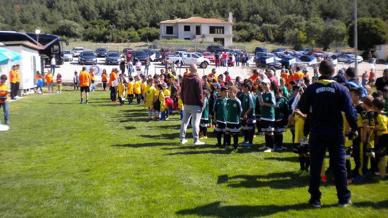 Με επιτυχία το 5ο Εαρινό Φεστιβάλ Παιδικού Ποδοσφαίρου στην Αλεξανδρούπολη