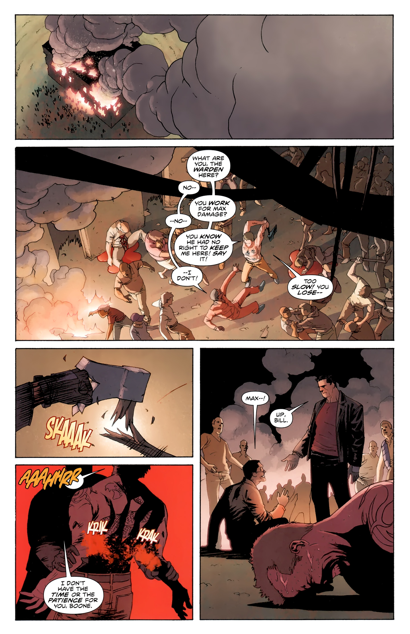 Read online Incorruptible comic -  Issue #30 - 4