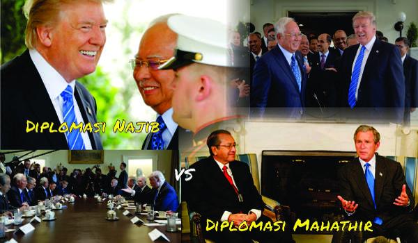 Diplomasi Najib Vs Diplomasi Mahathir