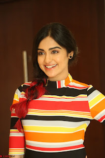 Adha Sharma in a Cute Colorful Jumpsuit Styled By Manasi Aggarwal Promoting movie Commando 2 (128).JPG